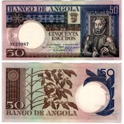 (105) Angola. 1973. 50 Escudos (SC)