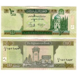 (67Aa) Afganistán. 2008. 10 Afghanis (SC)