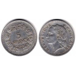 (888b.1) Francia. 1949. 5 Francs (BC)