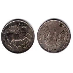 (110) Grecia. 1973. 10 Drachma (MBC)