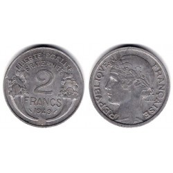 (886a.1) Francia. 1949. 2 Francs (MBC+)