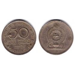 (135.1) Sri Lanka. 1978. 50 Cents (MBC)