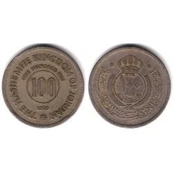 (12) Jordania. 1955. 100 Fils (MBC-)
