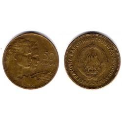 (35) Yugoslavia. 1955. 50 Dinara (EBC)