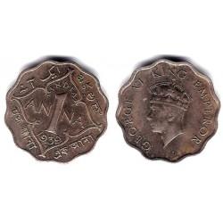 (536) India Británica. 1939. 1 Anna (EBC)
