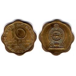 (140) Sri Lanka. 1975. 10 Cents (EBC+)