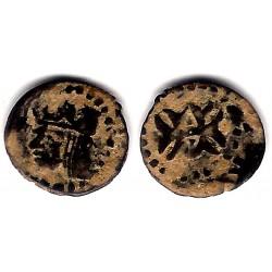 Felipe III. 1598-1621. Dinero (RC+) Ceca de Aragón