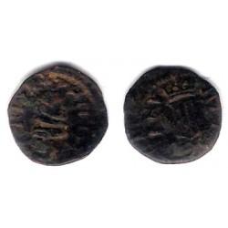 Felipe IV. 1643. Dinero (BC) Ceca de Agramunt