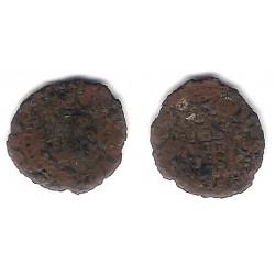 Felipe II. 1556-1598. Dinero (RC+) Ceca de Gerona