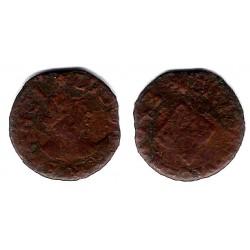 Luis XIV. 1643. Dinero (BC-) Ceca de Vic