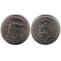 (509) Estados Unidos Mexicanos. 1985. 200 Pesos (MBC+)