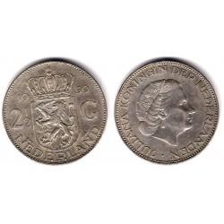 (185) Países Bajos. 1959. 2½ Gulden (EBC) (Plata)