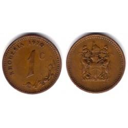 (10) Rhodesia. 1970. 1 Cent (MBC)