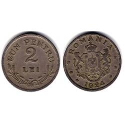(47) Rumania. 1924. 2 Lei (MBC+)