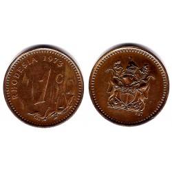 (10) Rhodesia. 1973. 1 Cent (MBC+)