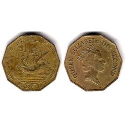 Belice. 2012. 1 Dollar (MBC)