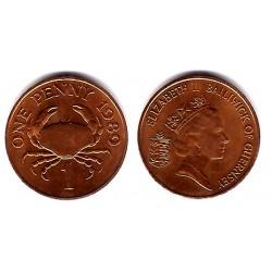(40) Guernsey. 1989. 1 Penny (SC)