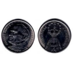 Medalla Juan Pablo II. Brasil. 1980