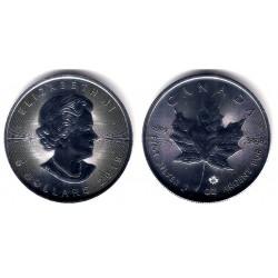 Canadá. 2019. 5 Dollars (Proof) (Plata)