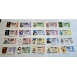 Loteria Nacional. 2011. Año Completo (51 Décimos)