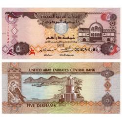 (26) Emiratos Árabes Unidos. 2017. 5 Dirham (SC)