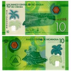(209a) Nicaragua. 2014. 10 Cordobas (SC)