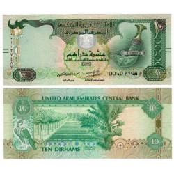 (27) Emiratos Árabes Unidos. 2017. 10 Dirham (SC)