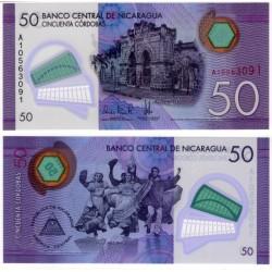 (211) Nicaragua. 2014. 50 Cordobas (SC)