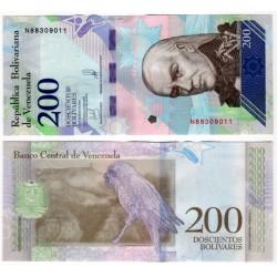 (107b) Venezuela. 2018. 200 Bolivares (SC)