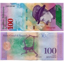 (106) Venezuela. 2018. 100 Bolivares (SC)