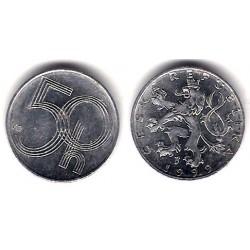 (3.1) República Checa. 1999. 50 Haleru (MBC+)