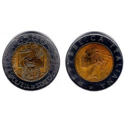 (187) Italia. 1997(R). 500 Lira (MBC)