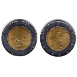 (111) Italia. 1995(R). 500 Lira (MBC)
