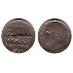 (61.1) Italia. 1925. 50 Centesimi (BC)