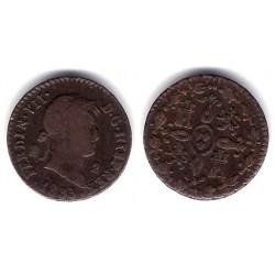 Fernando VII. 1833. 2 Maravedi (BC+) Ceca de Segovia