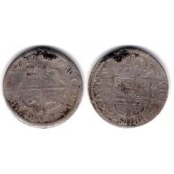 Felipe V. 1721. 2 Reales (BC) (Plata) Ceca de Cuenca JJ