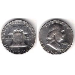 (199) Estados Unidos de América. 1962. Half Dollar (MBC) (Plata)