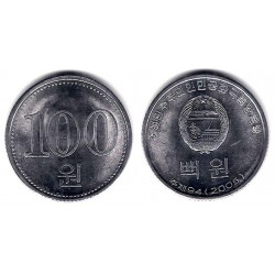 (427) Corea del Norte. 2005. 100 Won (SC)