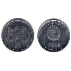 (426) Corea del Norte. 2005. 50 Won (SC)