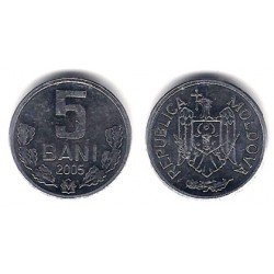 (2) Moldavia. 2005. 5 Bani (SC)