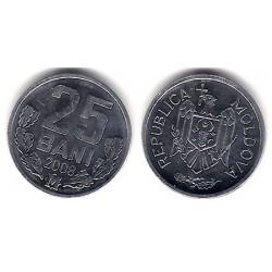 (3) Moldavia. 2008. 25 Bani (SC)