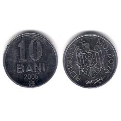 (7) Moldavia. 2005. 10 Bani (SC)