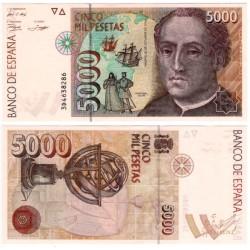 España. 1992. 5000 Pesetas (SC) Serie 3D