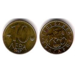 (224) Bulgaria. 1997. 10 Leva (EBC)