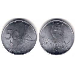 (15) Eslovaquia. 1993. 50 Halierov (SC)