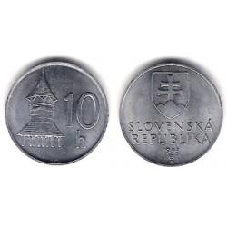(17) Eslovaquia. 1993. 10 Halierov (SC)