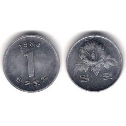 (31) Corea del Sur. 1984. 1 Won (SC)