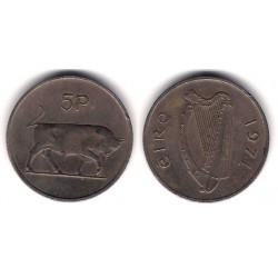 (22) Irlanda. 1971. 5 Pence (MBC)