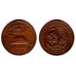 (440) Estados Unidos Mexicanos. 1966. 20 Centavos (BC)