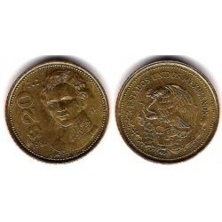 (805) Estados Unidos Mexicanos. 1985. 20 Pesos (EBC)